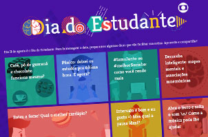 Website Dia do Estudante