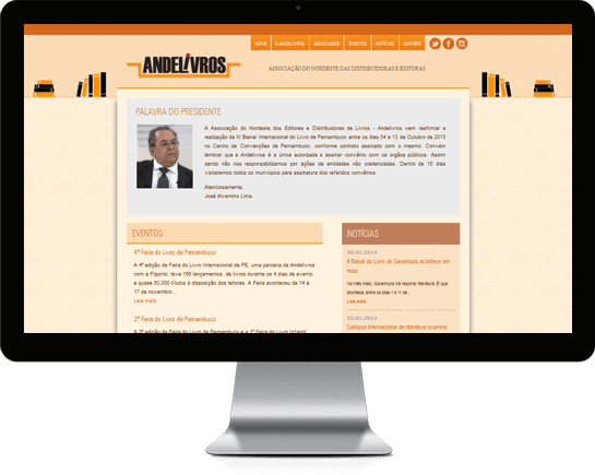 Website Andelivros