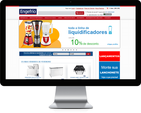 E-commerce Engefrio