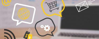 sites, hotsites, e-commerce, blogs no notebook