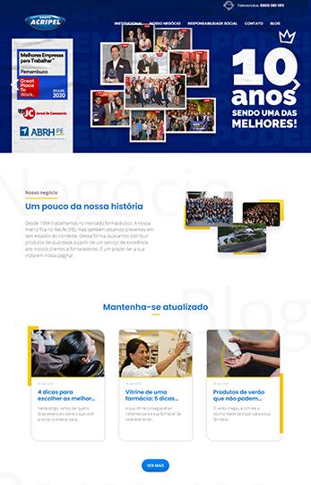 Website Grupo Acripel